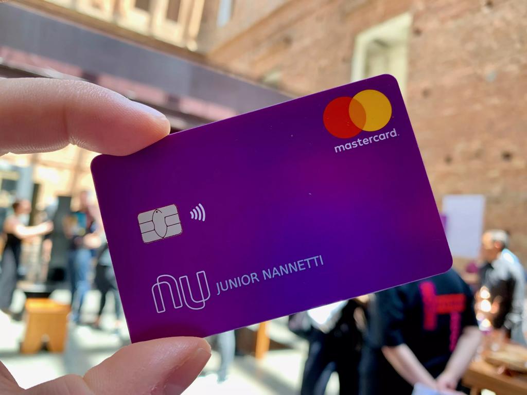 Conta Nubank cartão de débito e cartão de crédito 100% digital e sem anuidade
