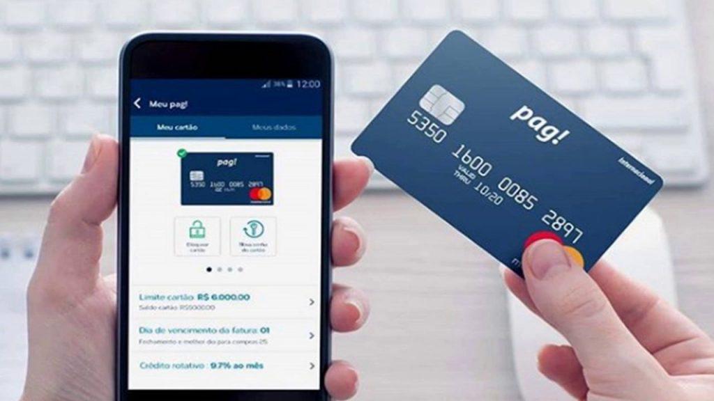 Pag! é sua conta digital com cartão de crédito 100% sem anuidade