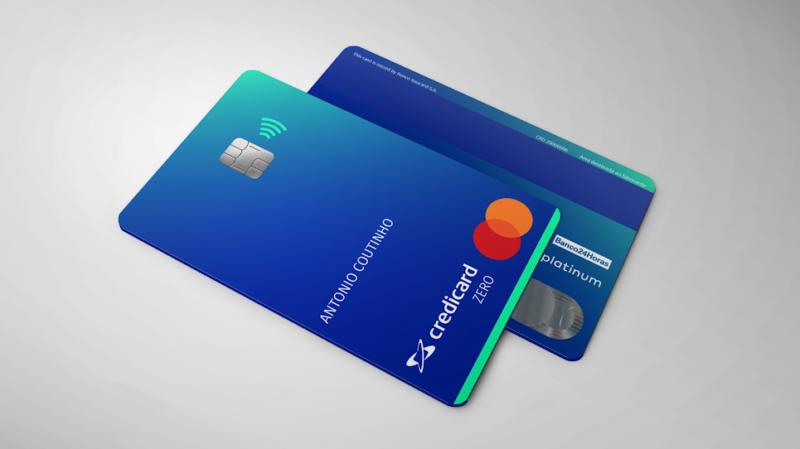 Credicard zero é cartão de crédito 100% digital e sem anuidade