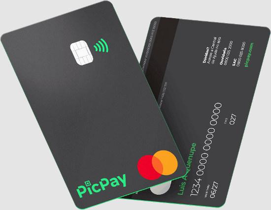 PicPay Card solução 100% digital para seu cartão de crédito sem anuidade